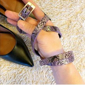 Snake Skin Belt NWOT